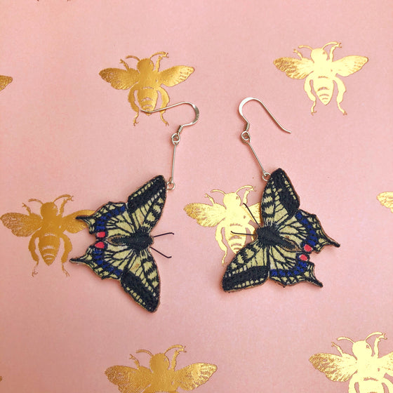 Butterfly Earrings - Swallowtail