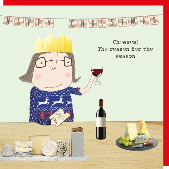 Christmas Card- Cheeses!