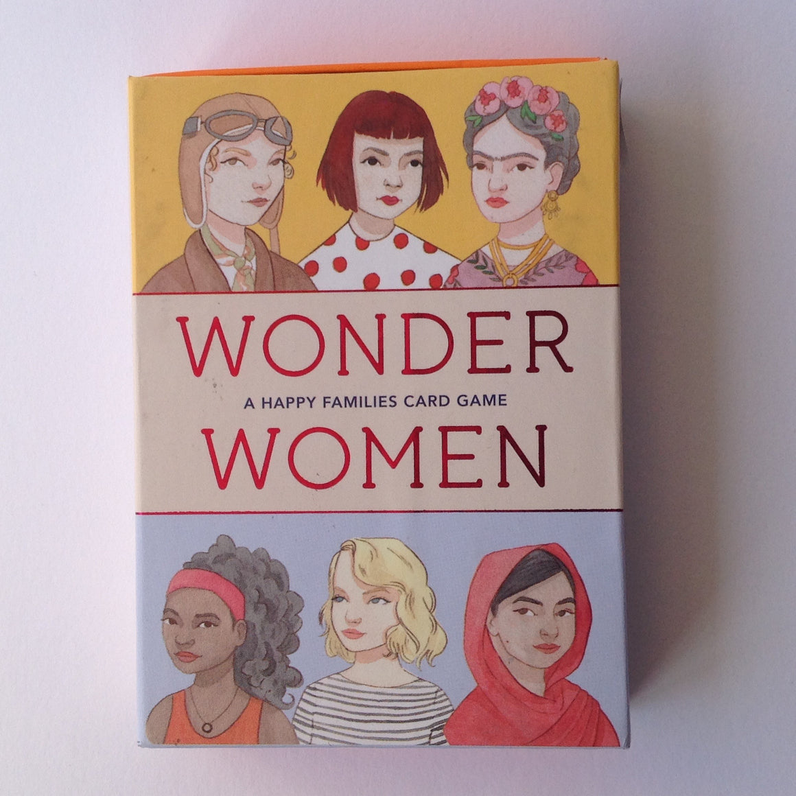 Wonder Women - Happy Families card game
