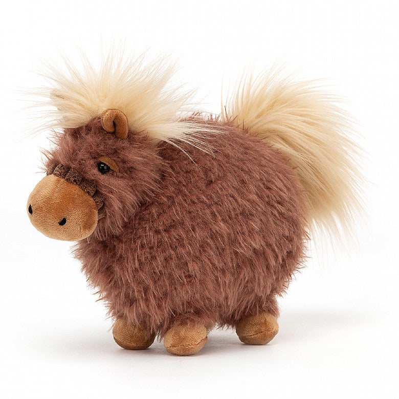 Rolbie Pony - Brown Flaxen - Small - by Jellycat