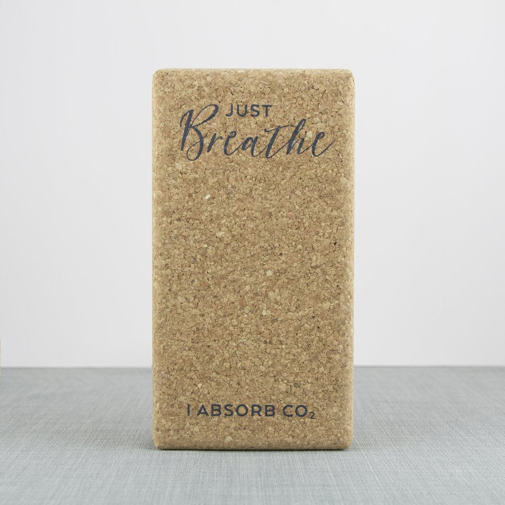 Just Breathe Cork Yoga Blocks- set of 2