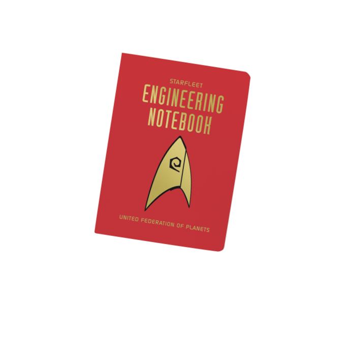 Startrek Engineering Pocket Notebook
