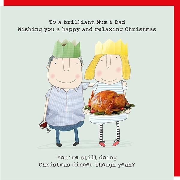 Christmas Card Mum & Dad