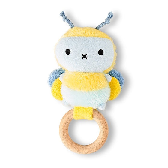 Bee Rattle and teething ring