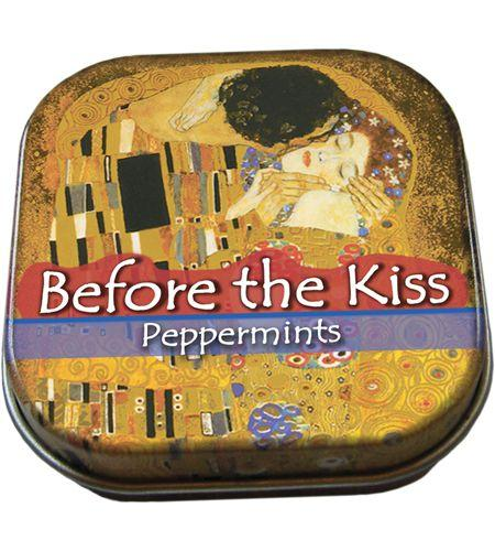 Tin of mints with Kllimt decoration- Red Hen Trading