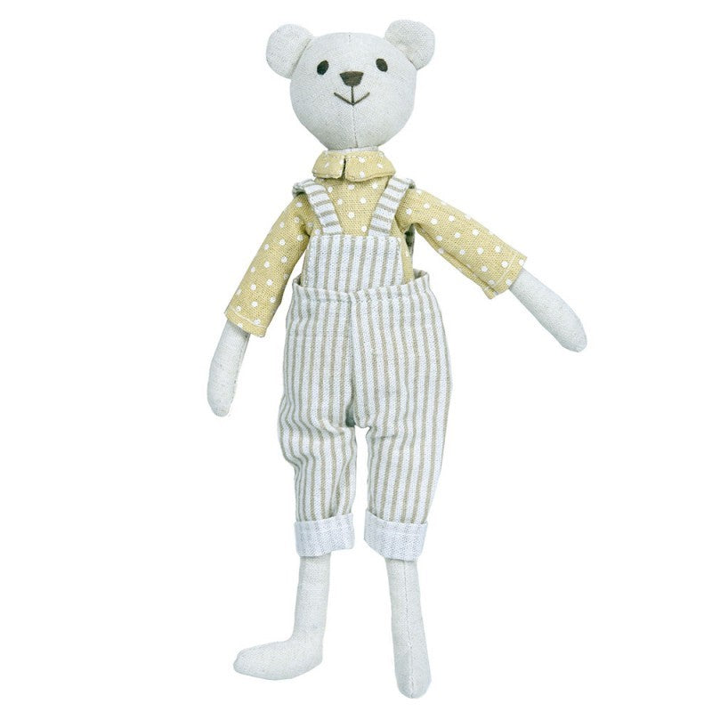 Linen Bear Boy - Toy