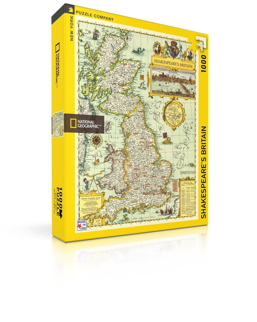 Shakespeare's Britain Jigsaw Puzzle - 1000pc