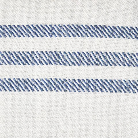 Classic Striped Navy Blue Throw