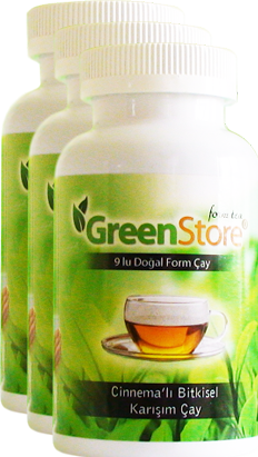 3 BOTTLES WEIGHT LOSS GREEN STORE TEA