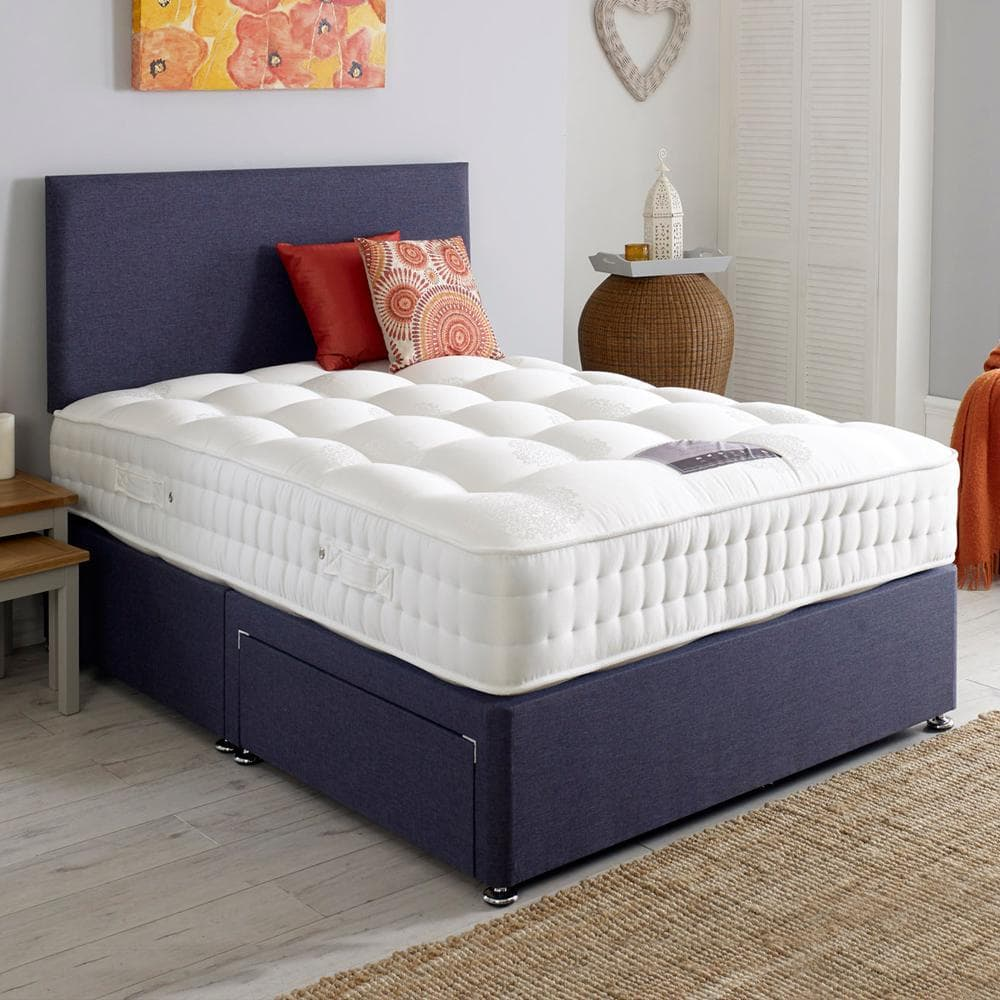 Dura Beds Classic Wool 800 Pocket Sprung Divan Bed Set
