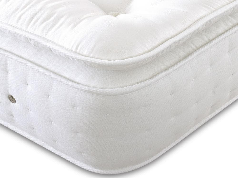 Shire Brecon 6000 Pocket Sprung Natural Fillings Pillow Top Mattress