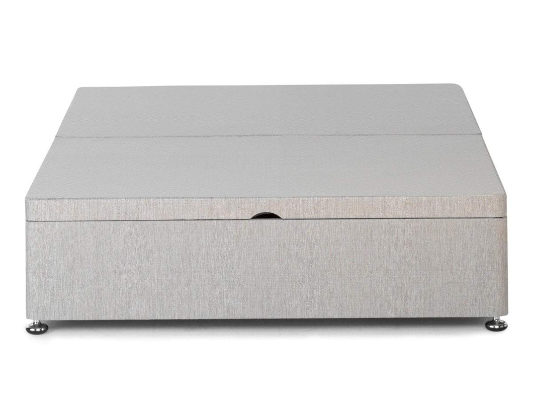 Half Opening Storage Ottoman Available In Single Double