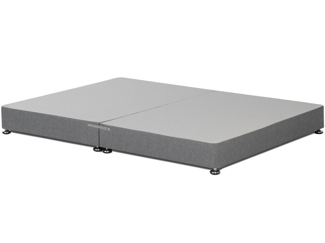 Signature Platform Top Low Divan Bed Base on Glides