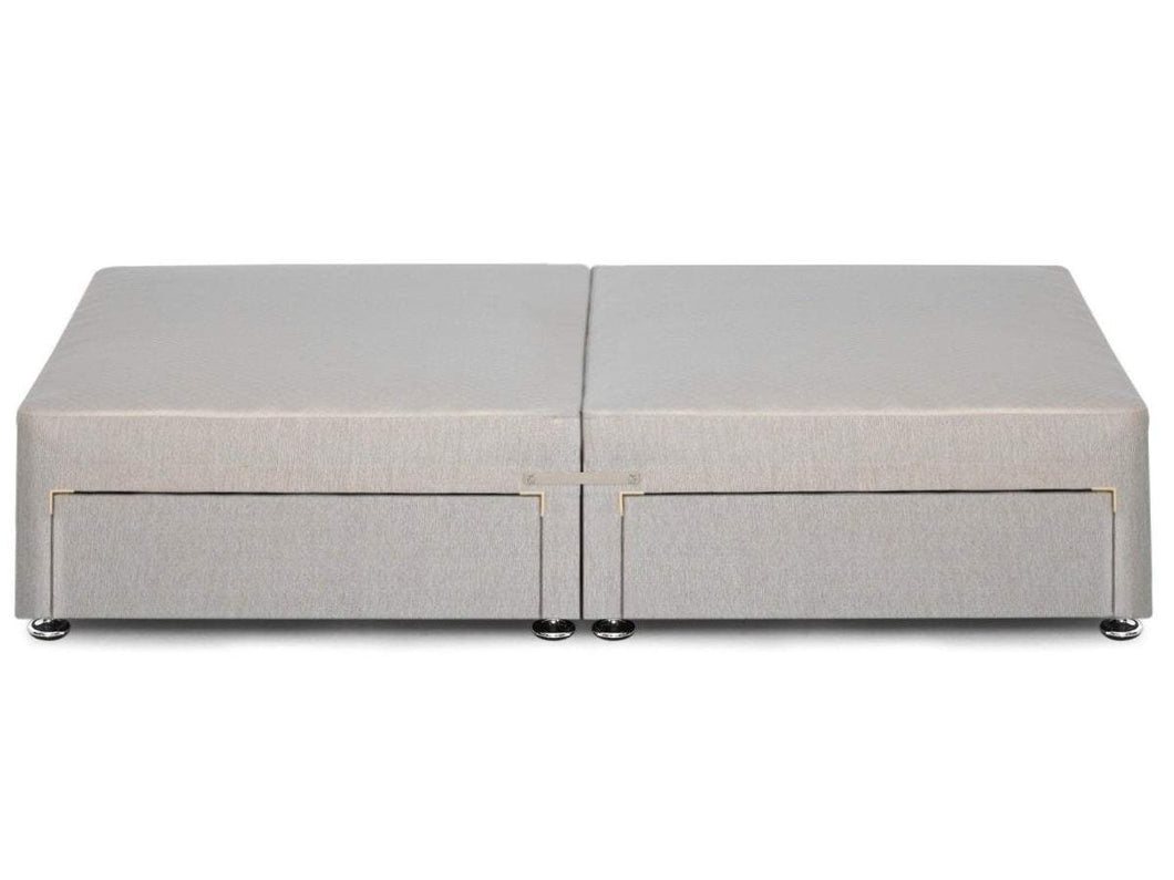 Sprung edge divan base available in single double and for Sprung base divan bed with storage