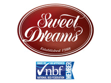 Sweet Dreams Virgo Floor Standing Upholstered Headboard