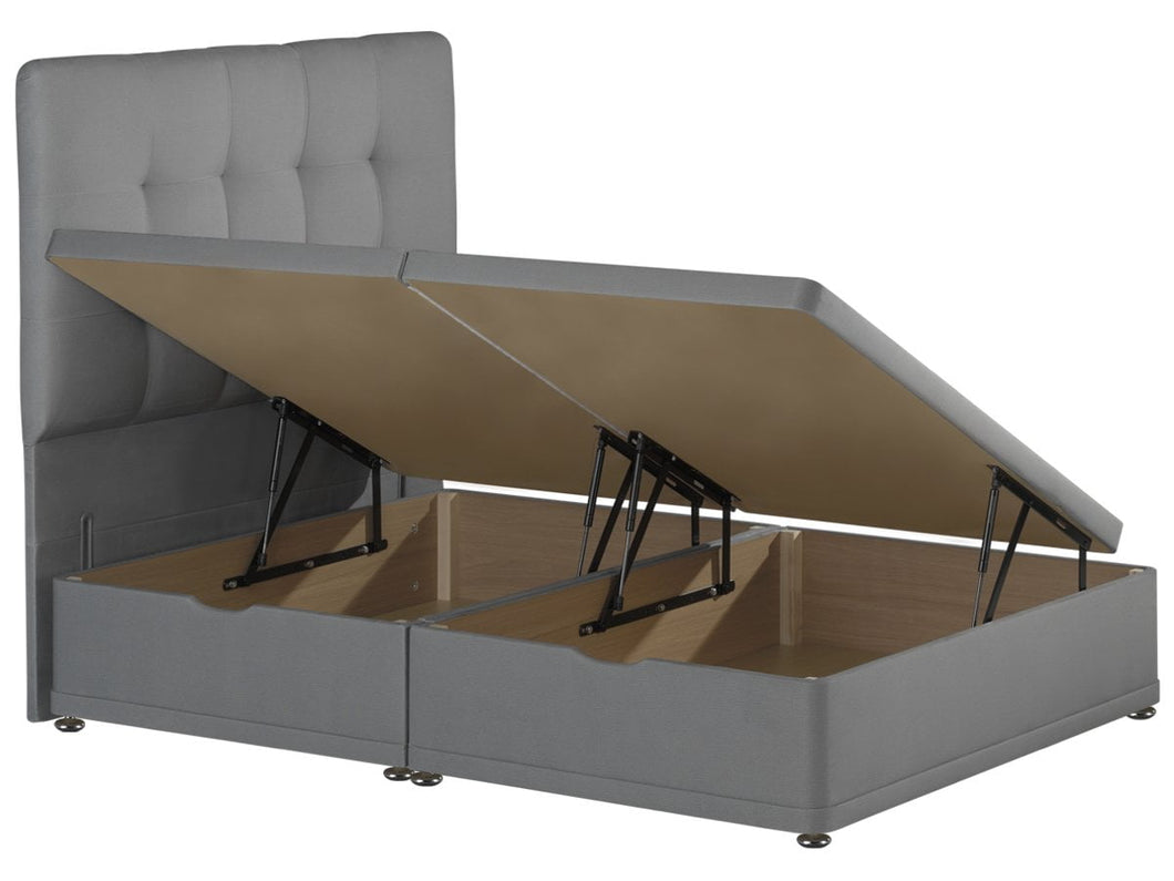 Wondrous Ottoman Storage Bed Base Available In Single Double And Inzonedesignstudio Interior Chair Design Inzonedesignstudiocom