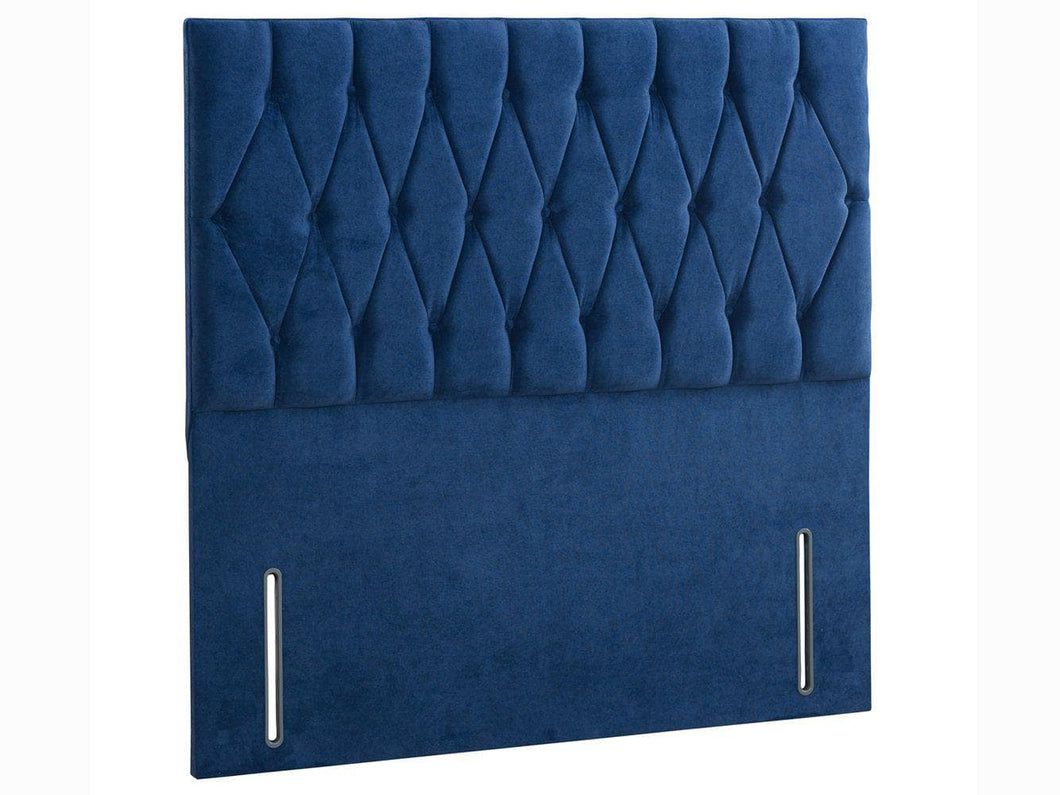 Sleep Revolution Diamond Floor Standing Upholstered Headboard