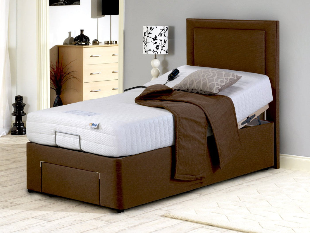 Furmanac MiBed Diane Memory Foam Electric Adjustable Bed