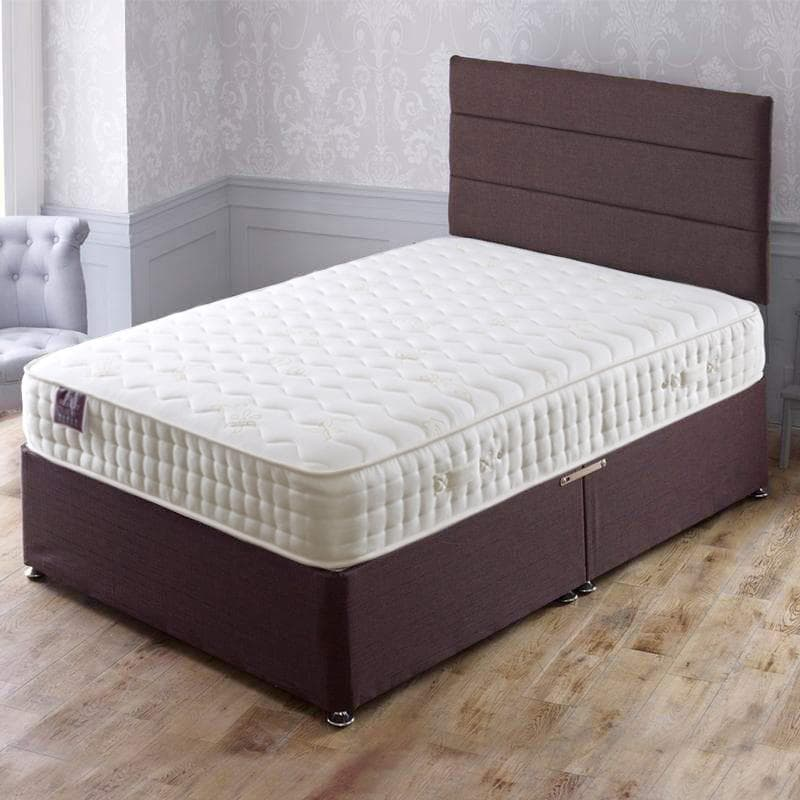 Apollo Dual Memory 1500 Pocket Sprung Memory Foam Divan Bed Set