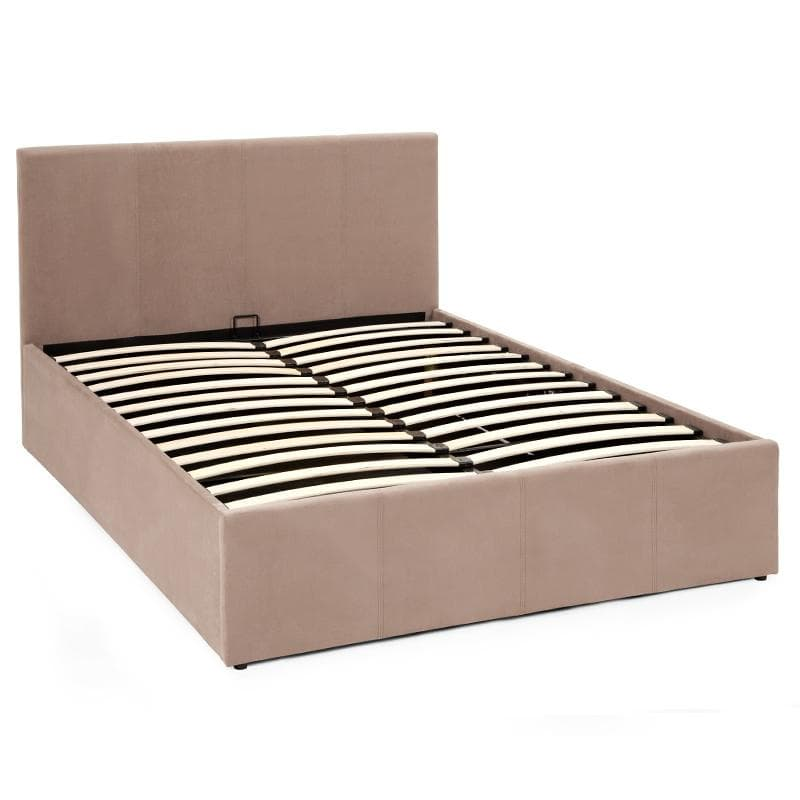 Evelyn Ottoman Gas Lift Storage Fabric Bed Frame
