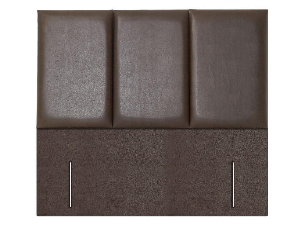 Monaco Floor Standing Fabric or Leather Upholstered Headboard - 1