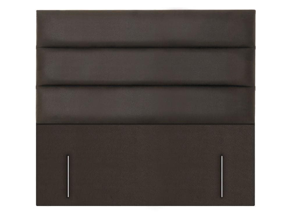 Paris Floor Standing Fabric or Leather Upholstered Headboard - 1