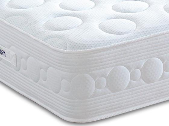 Health Therapy Titanium 1000 Pocket Sprung Memory LayGel Foam Mattress