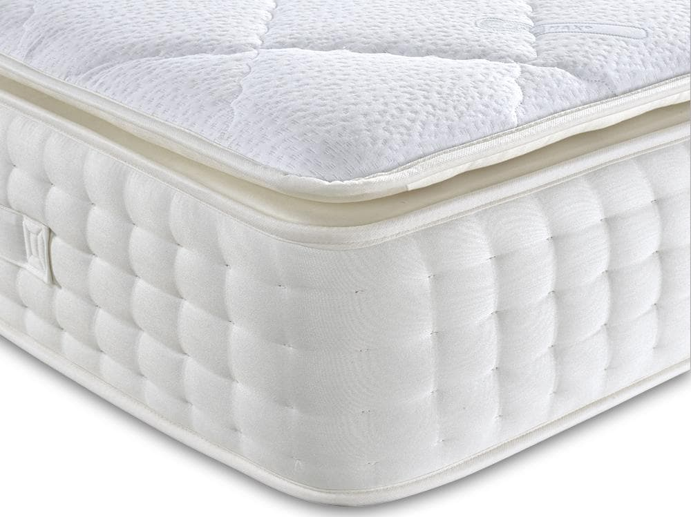 Latex 1000 Pocket Sprung Pillow Top Mattress