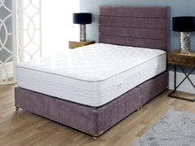 Sleep Revolution Lotus Floor Standing Upholstered Headboard