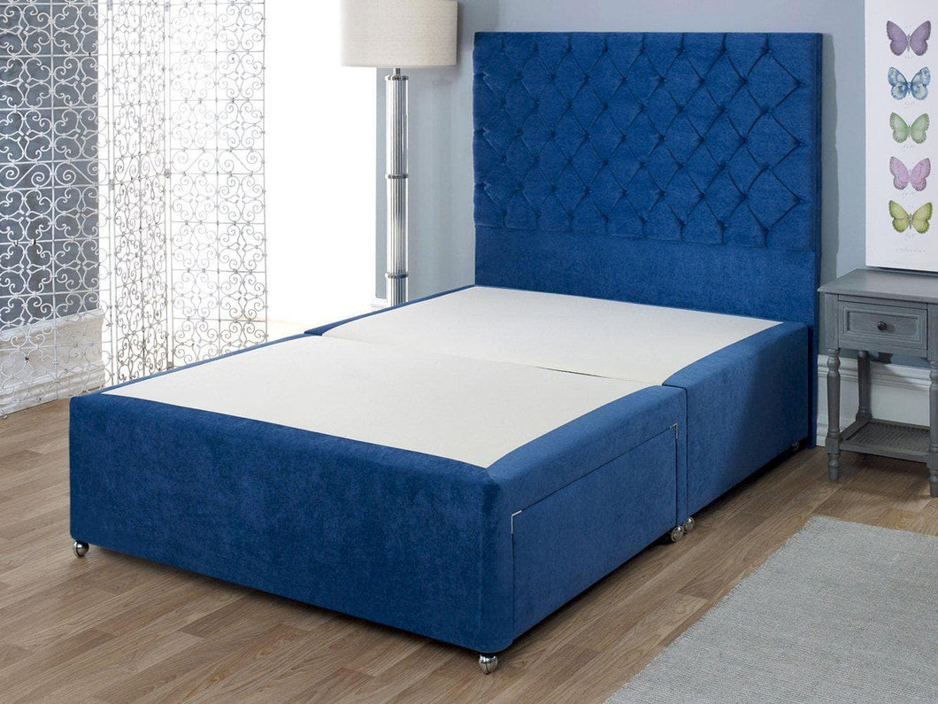 Shire Artisan Luxury Cushioned Top Divan Bed Base