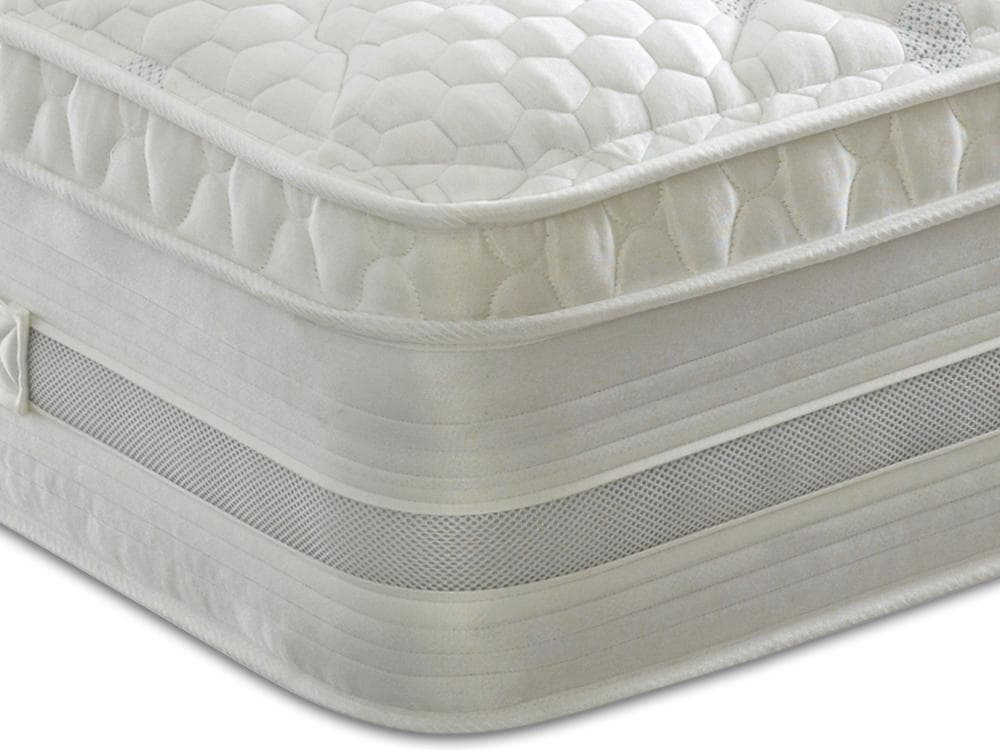 Dura Beds Oxford 1000 Pocket Sprung Memory Foam Cushioned Top Mattress