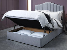 Serene Posie 2 Drawer Storage Half End Lift Ottoman Divan Bed Base