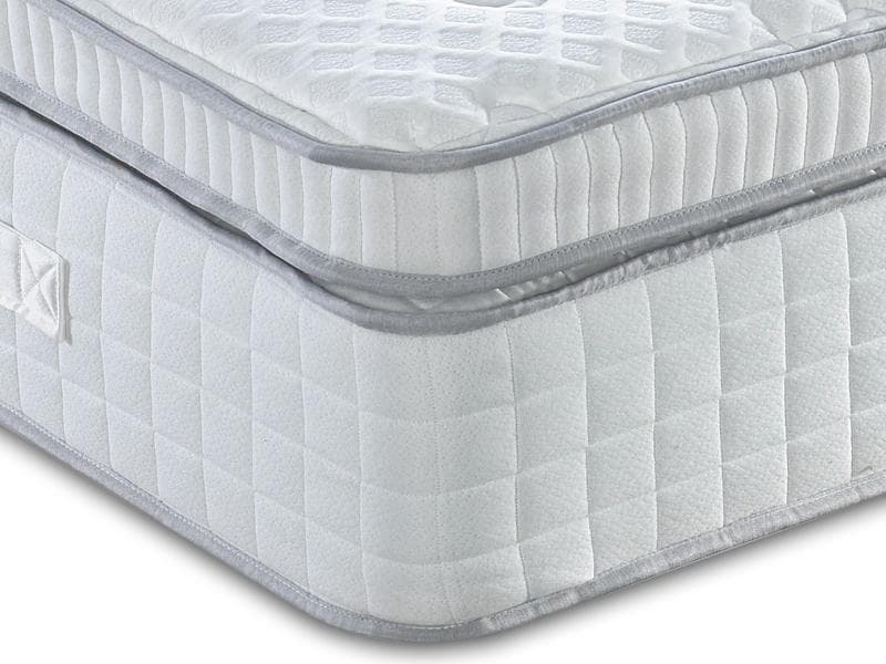 Dura Beds Turin 2000 Pocket Sprung Box Pillow Top Mattress