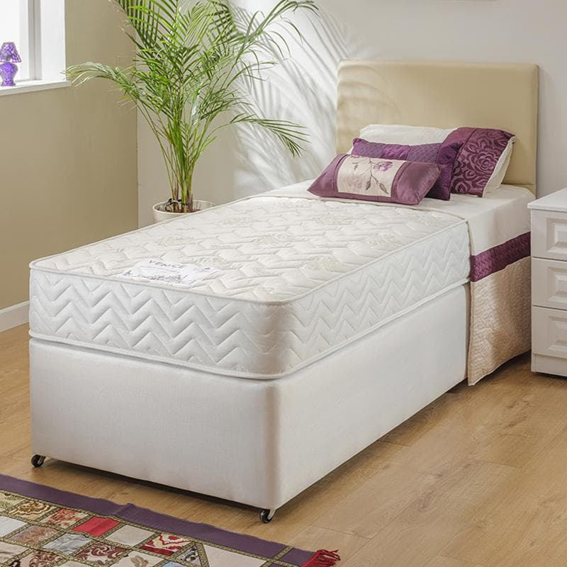 Sleep Revolution Venice Coil Sprung Divan Bed Set