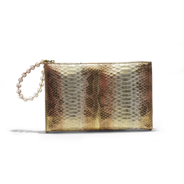Clutch Piton Rose/Auriu