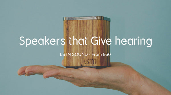 LSTN Bluetooth speakers & headphones by LSTN Sound on 100Ideas.com