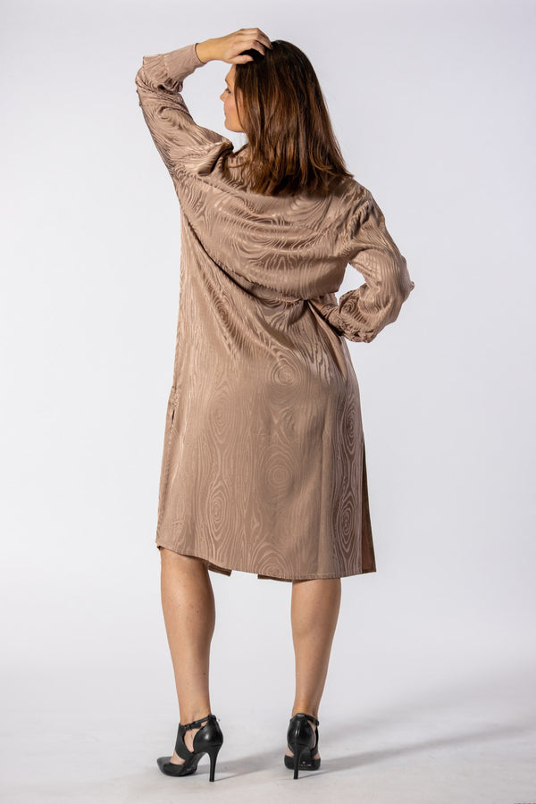 Kaarna Long Shirtdress Sand