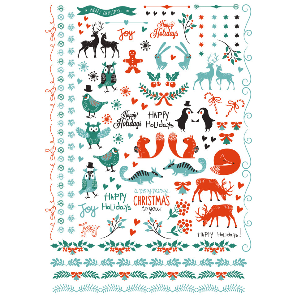 Limited edition Christmas sheet now $7.50 per sheet