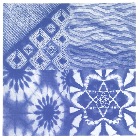 Shibori 1 - End of Summer Sale - was $8.50, now $6.00 per sheet