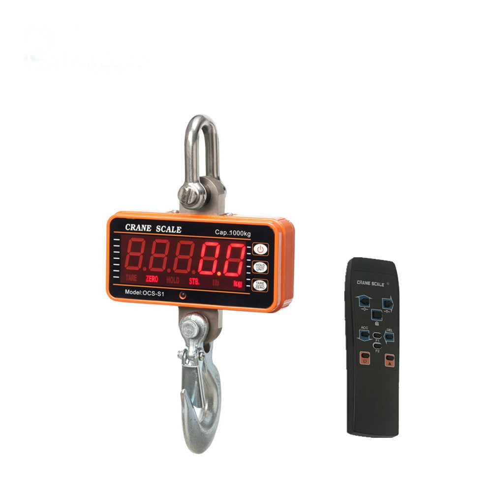 1t High Resolution Electronic Weighing Scales Digital Hanging Hook Crane Scale(OCS-S1 1000) - Xpert Omatic Digital pH Meter