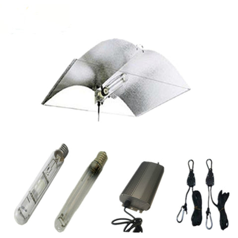 250W Grow Lights kit with Adjust-A-wing Reflector Lamp Covers Shades