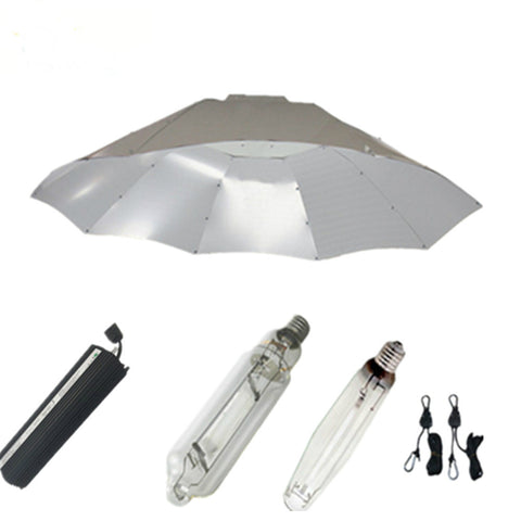 1000W Grow Lights Kits with Parabolic Reflector Lamp Covers Shades