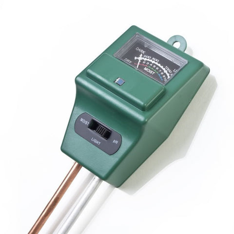 3 in 1 hygrometer, PH meter, Gardening Detector, PH value detector tester, soil pH and plant illumination