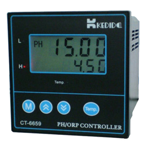 CT-6659 PH/ORP Controller CT-6659+Ph Electrode Industry Ph Sensor CT-1001C 10M Line - Xpert Omatic Digital pH Meter