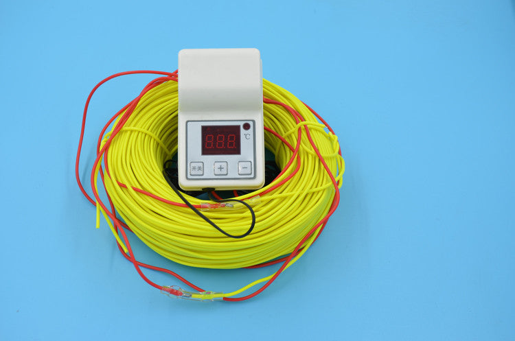 100M 1KW 220V Soil heating wire + 2000W Temperature Controller - Xpert Omatic Digital pH Meter