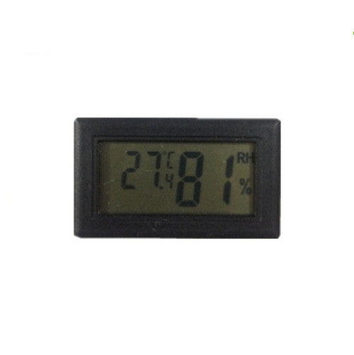 Mini humidity temperature indoor or outdoor thermometer hygrometer meter