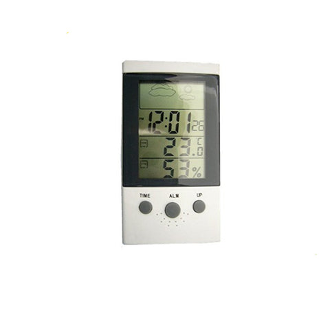 Multi Function LCD Table  Alarm Clocks Temperature Humidity Electronic Digtal Thermometer Hygrometer - Xpert Omatic Digital pH Meter