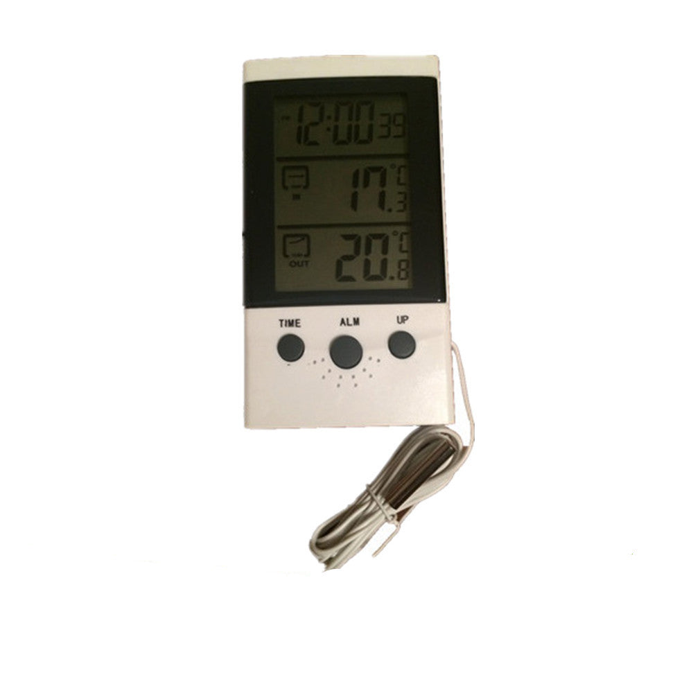 Electronic Digital Temperature Gauges LCD Indoor/Outdoor Thermometer