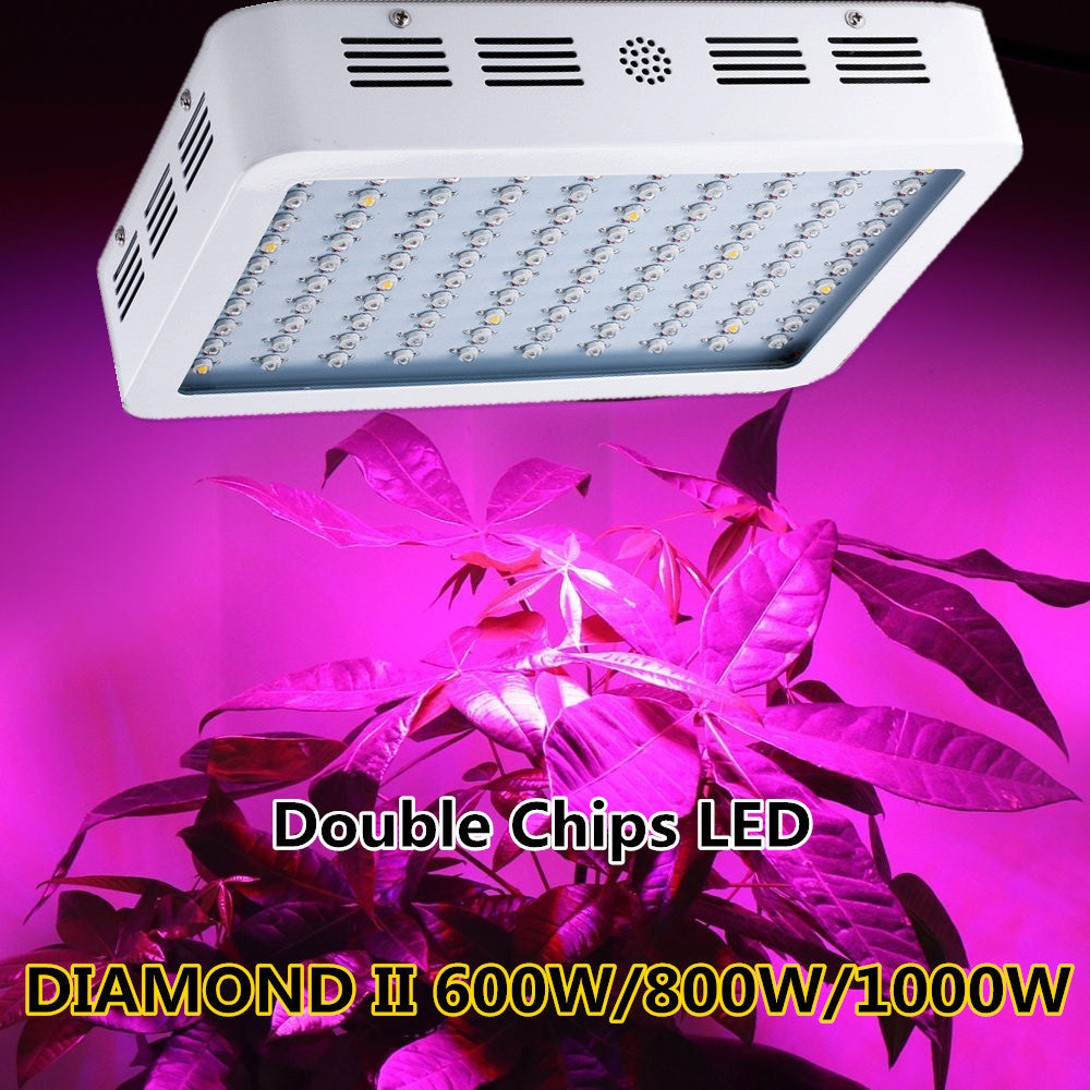 DIAMOND II  Double Chip LED Grow Light Full Spectrum For Indoor Plant and Flower - Xpert Omatic Digital pH Meter
