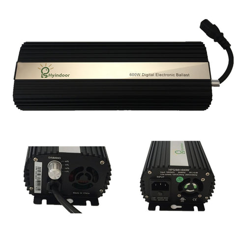 USA PLUG MH/HPS Ballasts 600w Dimmable Electronic Ballasts